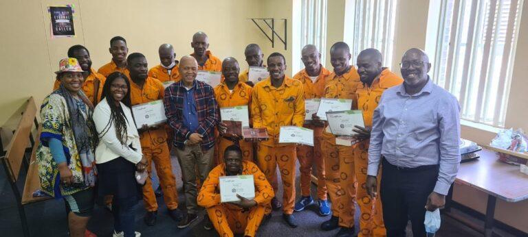 Krugersdorp prison Found by Grace Prison Fellowship
