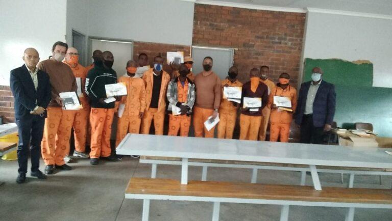 Sasolburg Prison - Found by Grace Prison Ministries